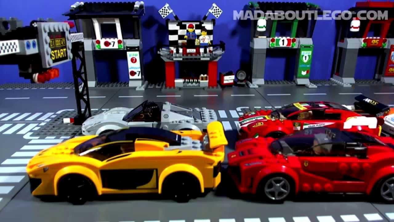 LEGO TOP GEAR LONDON RACE - YouTube