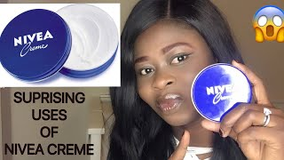 THIS IS NOT A JOKE / APPLY NIVEA CREME ON YOUR SKIN AND SEE WHAT HAPPENS