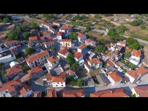 Vrissa, Lesvos. Earthquake disaster, June 12, 2017