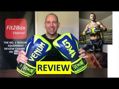 VENUM HAMMER PRO LOMACHENKO BOXING GLOVES REVIEW