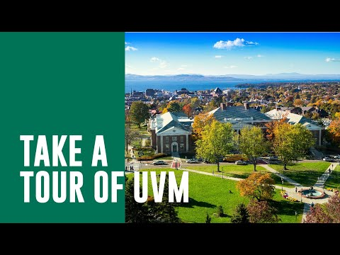 Aerial View of the Campus at the University of Vermont