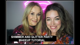 GLITTER FOR GROWN UPS - PARTY MAKEUP TUTORIAL