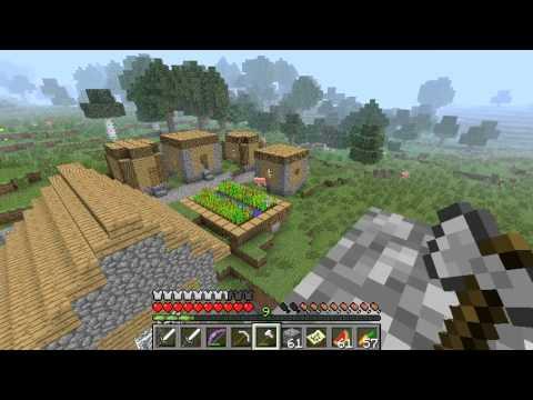 Minecraft for Noobs! - Week 78 - Exploring The NPC Village!