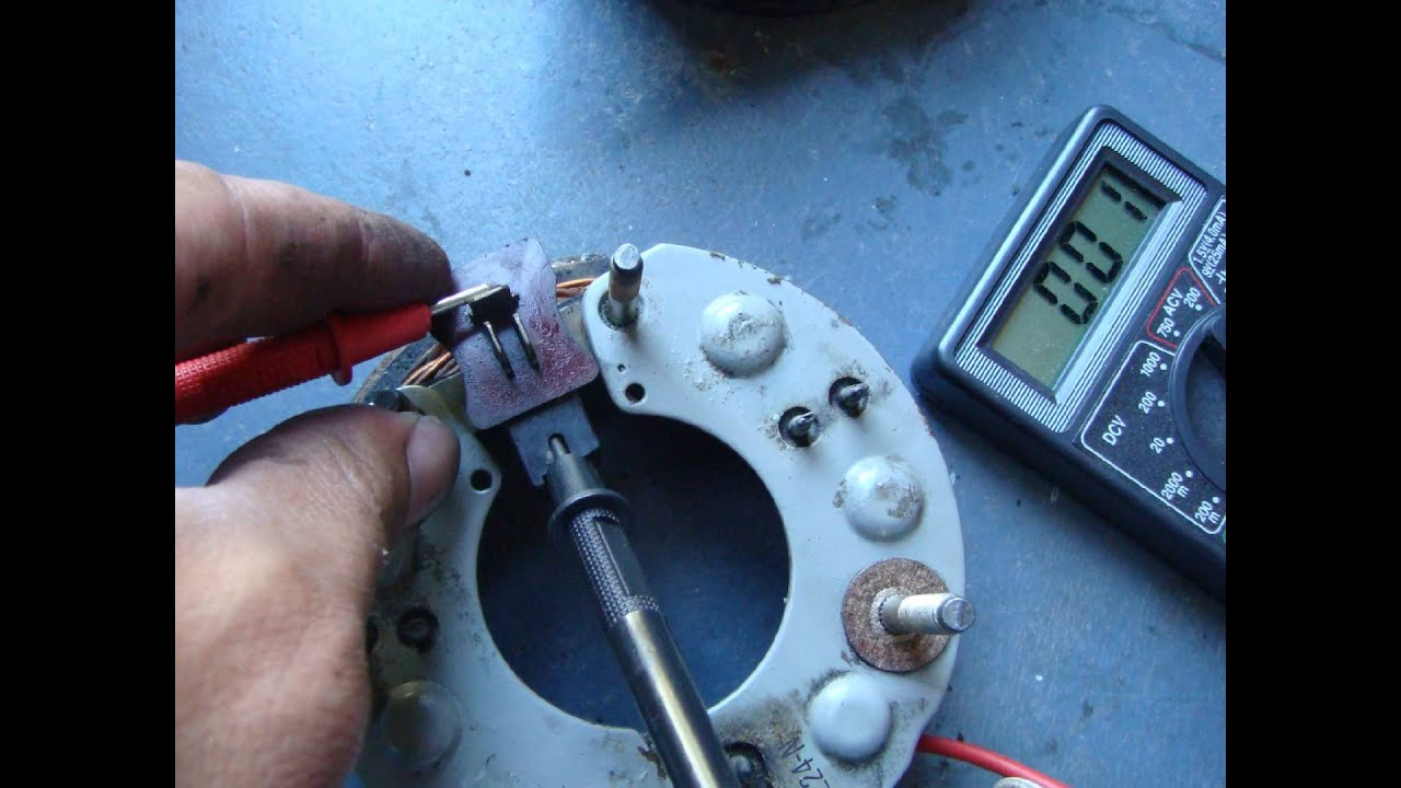 35Amp Denso Alternator teardown and test - YouTube