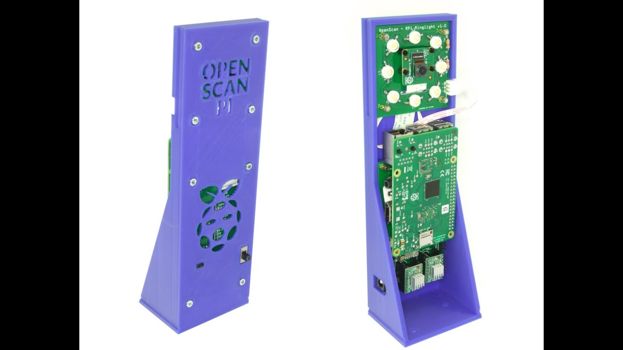 Pi 3d bauen raspberry scanner selber