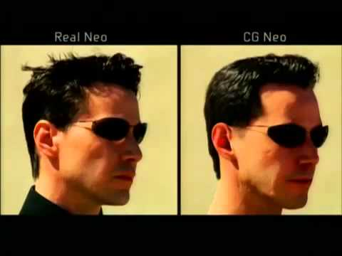 efb3a1c88 Neo and Smith CGI doubles from The Matrix Reloaded (2003) - YouTube