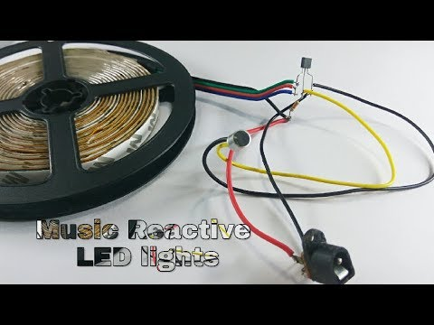 Make Music Reactive RGB LED Strip