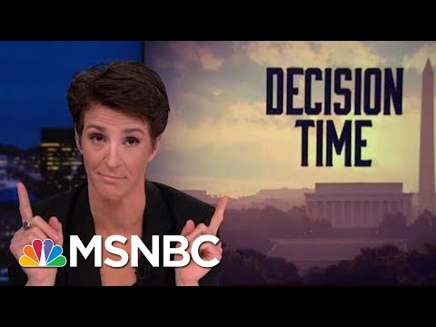 2018 Election Could Yield Congress That Will Be A Check On President Trump | Rachel Maddow | MSNBC