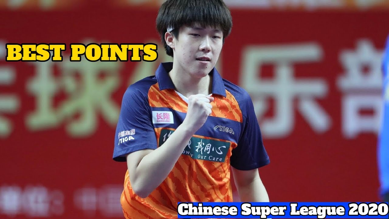 Best Points Of Wang Chuqin 王楚钦 | Chinsese Super League 2020