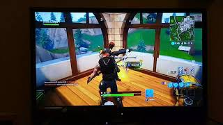 Fortnite clip ( just luck and skill)