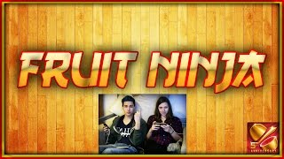 Let's Play Fruit Ninja feat. Claire MzA - Étienne MzA Gaming [CC]