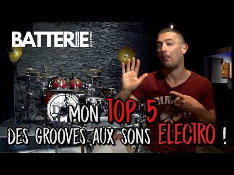 Mon top 5 des grooves aux sonorités electro !