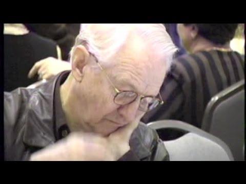 WILLIAM SCHALLERT dozes off at public appearance