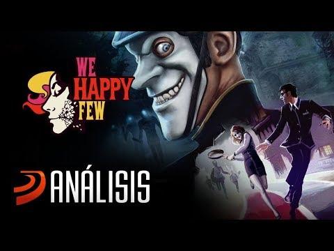 Vídeo análisis de We Happy Few. ¿Te hará feliz?