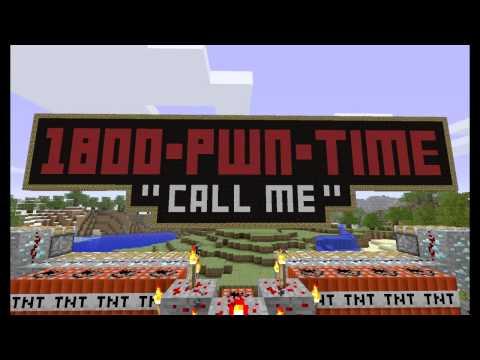 MINECRAFT INTRO VIDEO!!! TNT CANNON =D