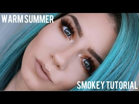 Quickie Tutorial | Warm Smokey Eye Tutorial