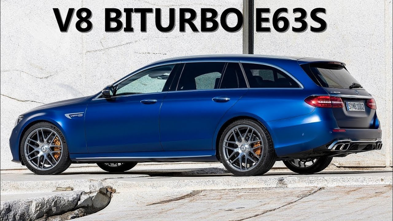 2021 Mercedes AMG E63S V8 BITURBO 4MATIC 2021 - YouTube
