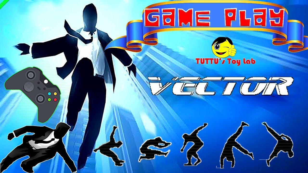 Vector game || How to use stunts || Vector Gameplay
