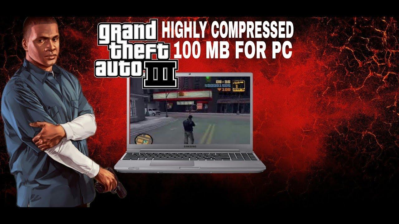 gta 3 download pc 100 mb