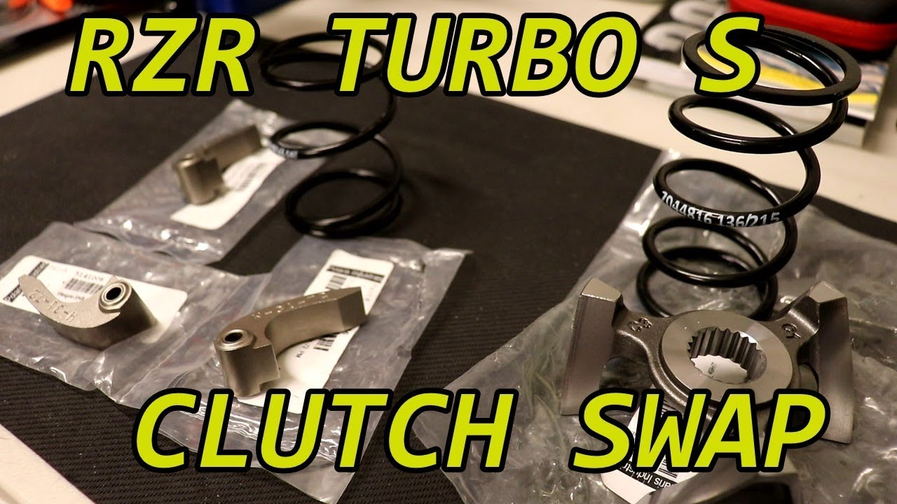 2018 RZR Turbo S Clutching for 2017 XP4