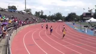 D.J. Beckhum's 1st 100m Race Thumbnail