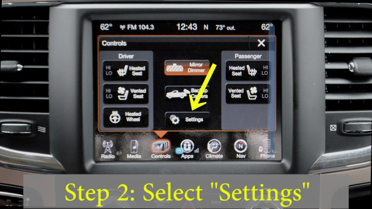 How To Enable Disable Your Rain Sensing Auto Wipers