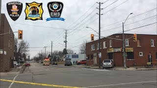 2 Car Accident - Windsor Police On Scene