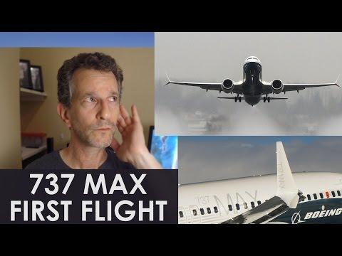 Boeing 737 MAX First Flight Video - KC-46 Tanker - AeroSpace News