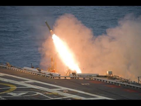 ▶ INS Vikramaditya missile trials