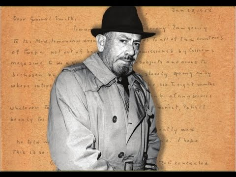 John Steinbeck: Citizen Spy w/ Brian Kannard on The Electric Pyramid - Pt. 1