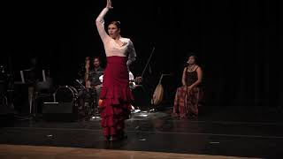 Flamenco dance and Indian - Cante - solea por buleria - Oliver Rajamani - flamenco india