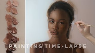 OIL PAINTING TIME-LAPSE ||