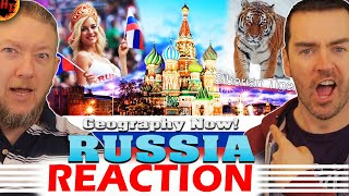 RUSSIA Reaction - Geography Now!