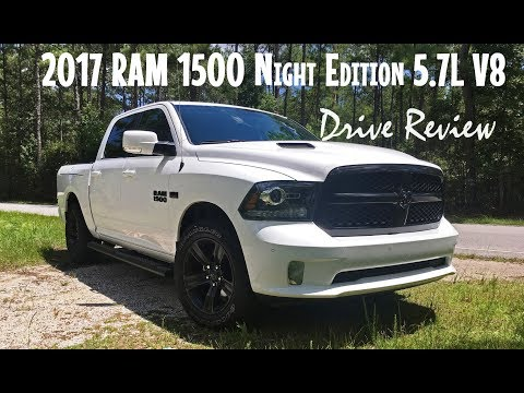 2017 RAM Sport 5.7L Night Edition 4x2 - Startup and Drive Review