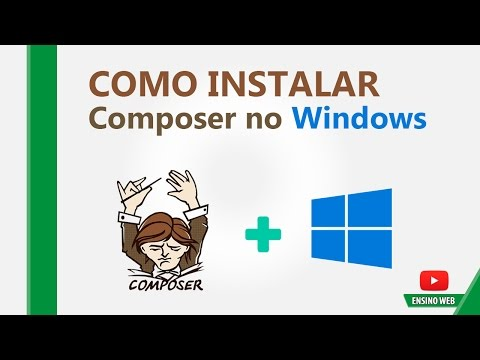 Como Instalar o Composer no Windows