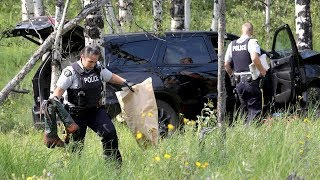 Man arrested after German tourist shot in head near Calgary