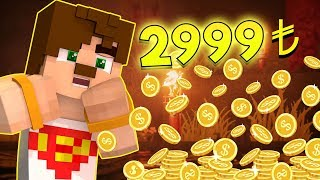 2999 TL BORÇLANDIM ! (Minecraft - Conconcraft Canlı Yayın)