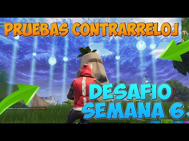 (CORRECTO) COMPLETA PRUEBAS CONTRARRELOJ - DESAFÍO SEMANA 6 TEMPORADA 5