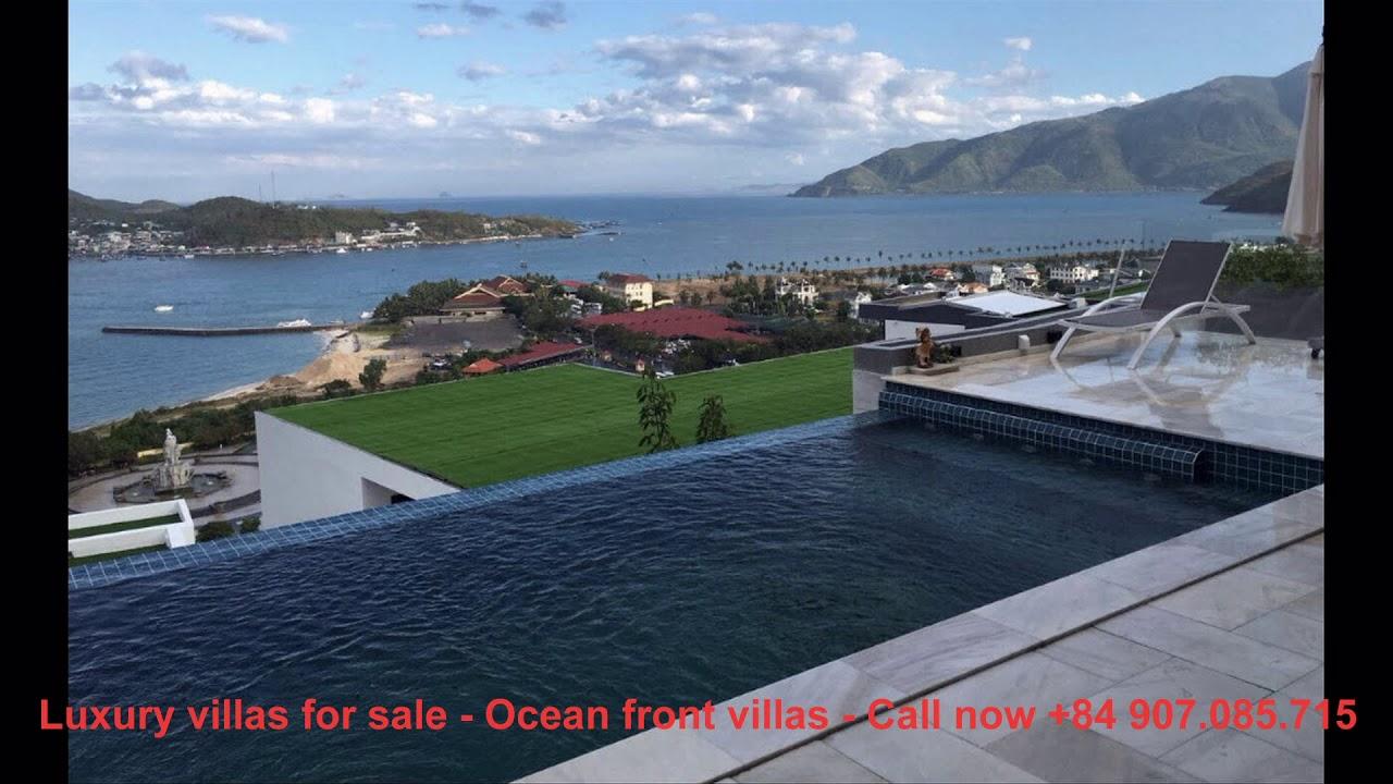 Biệt thự view biển Nha Trang – Ocean front villas – Giá bán biệt thự ven biển 38 tỷ ☎️ 0907.085.715