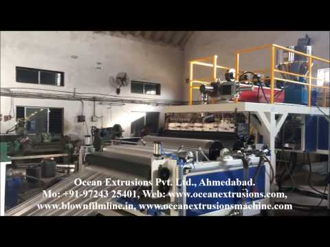 Air Bubble Sheet Extrusion Line