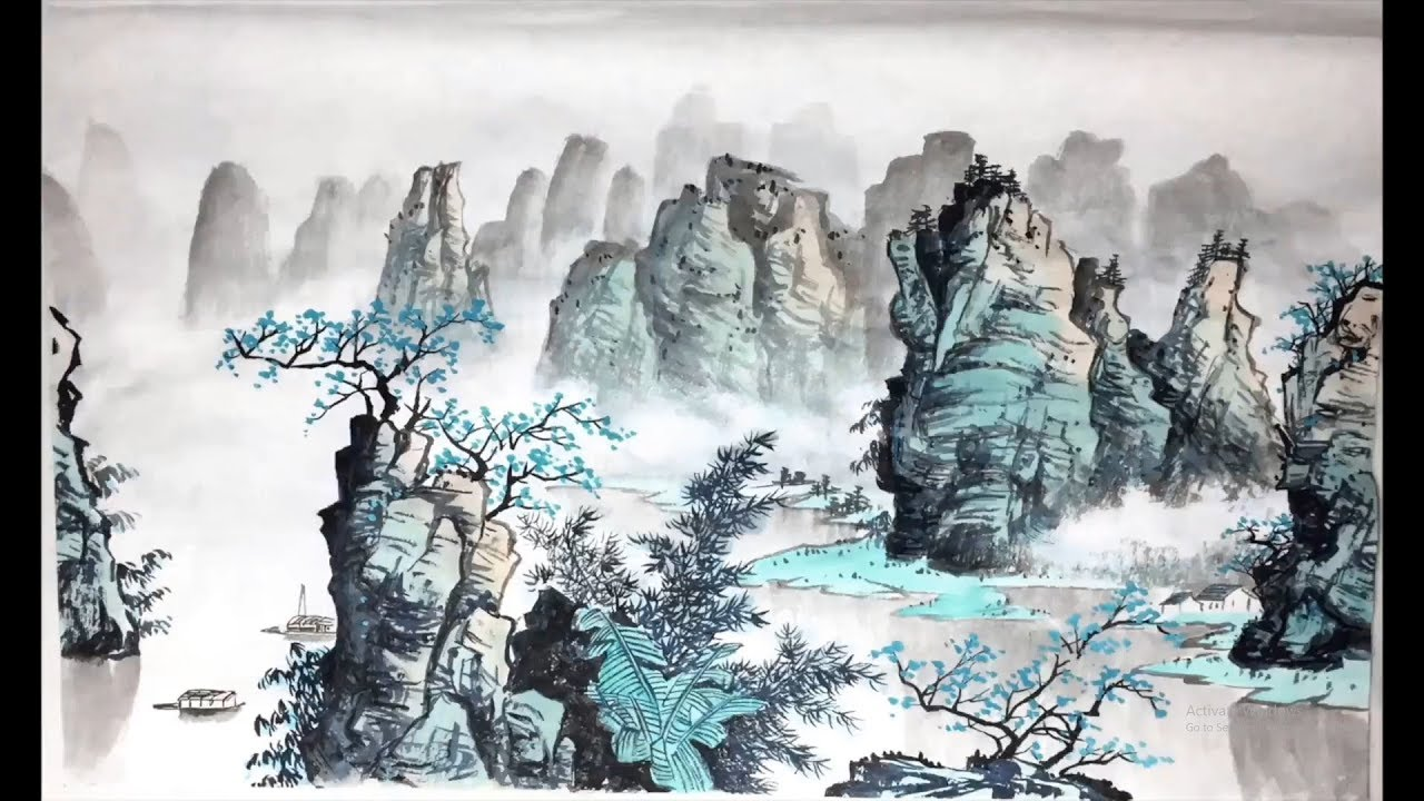Download Landscape Chinese Art Painting