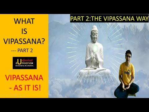 The Vipassana Way Part 2 | Vipassana As It Is