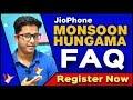 JioPhone Monsoon Hungama Offer FAQ | How to Buy JioPhone Rs.501 REGISTER NOW | Data Dock