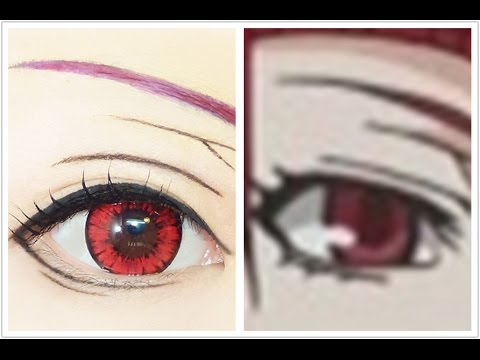Madam Red / Angelina Dalles | Tutorial : Anime Eye Makeup 231