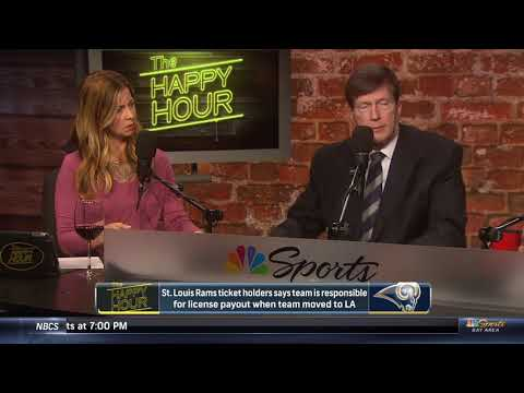 Steve Moskowitz talks on St. Louis Rams ticket holders license payout and more