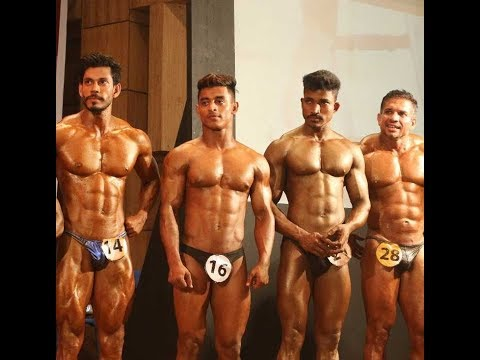 International bodybuilders participate in Fitness Expo