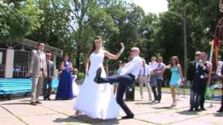 Самая зажигательная свадьба - Creative wedding