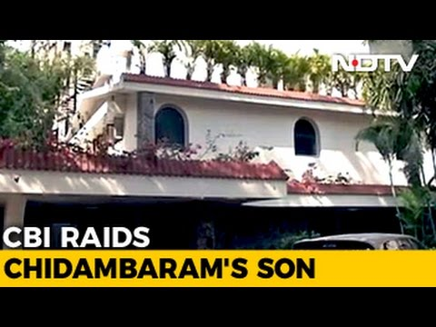 Home Of P Chidambaram And Son Karti In Chennai Raided By CBI