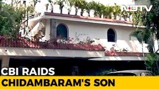 Home Of P Chidambaram And Son Karti In Chennai Raided By CBI