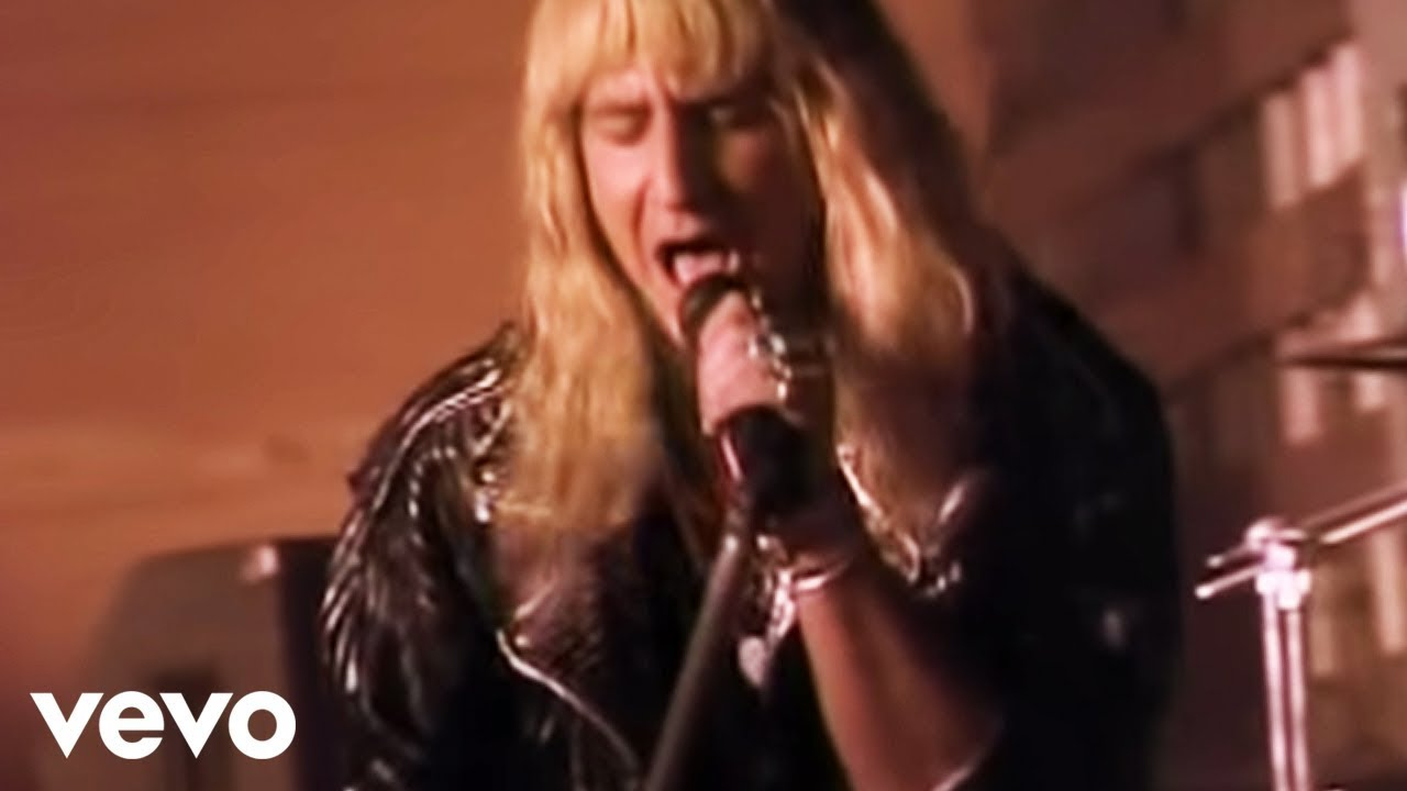 Great White - Once Bitten Twice Shy  Official Video
